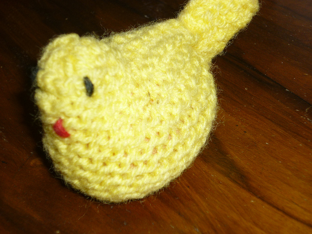 Knitted Chick Egg Cosy Pattern : Free Crochet Pattern: Egg Cosy Baking and Making