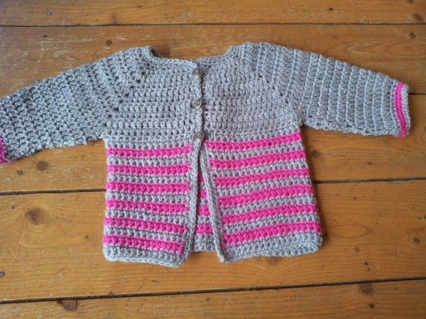 WI wool baby jacket